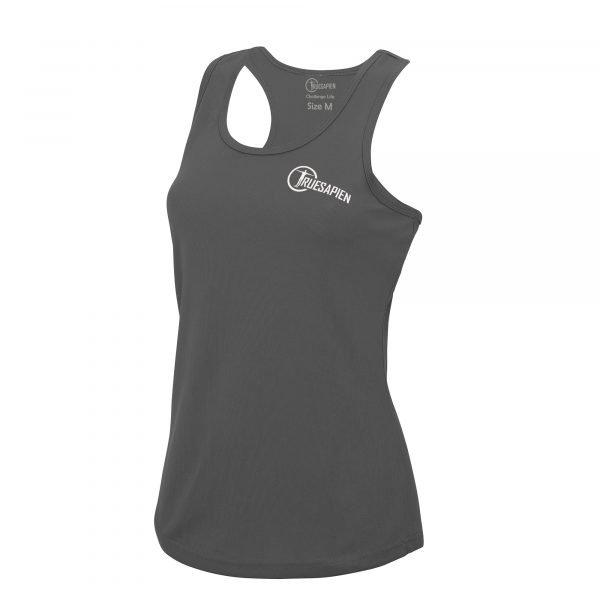 truesapien-womens-gym-fitness-running-vest-wicking-charcoal-white